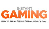 Code promo Instant Gaming - 15% de réduction jeux vidéo Instant