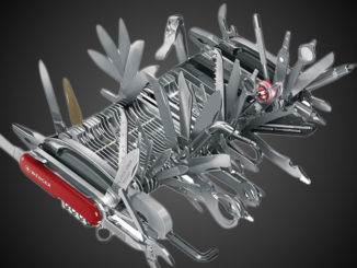 couteau suisse géant